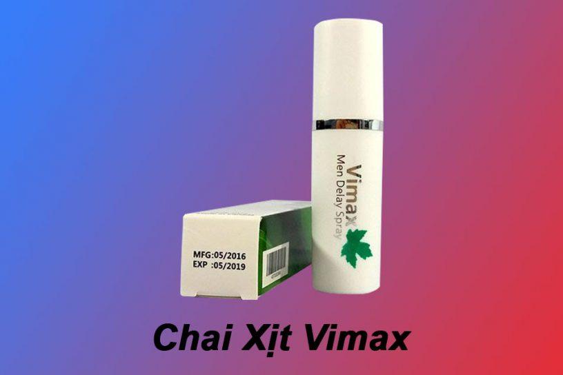 Chai Xịt Vimax